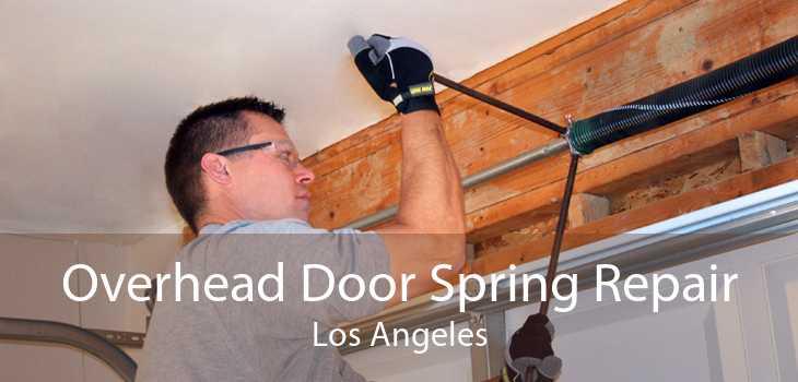 Overhead Door Spring Repair Los Angeles